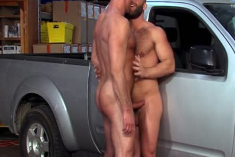 Eddy CeeTee And Nick Capra fuck In The Garage