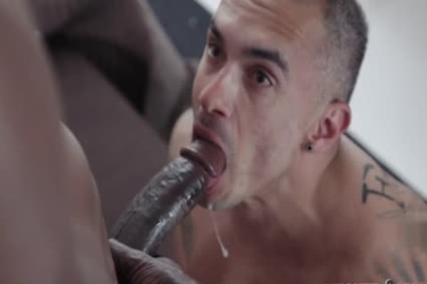 Humongous knob daddy ace plow with facial
