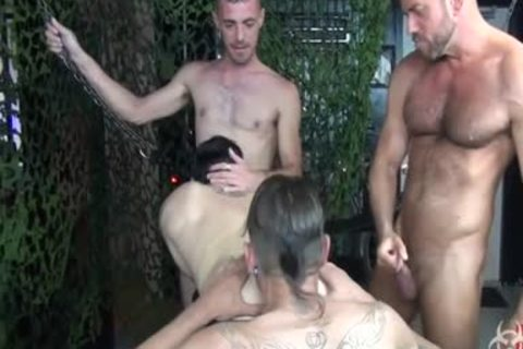 sweet raw Foursome bunch group-sex