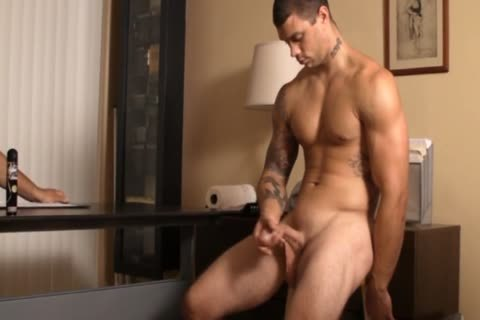 handjob FOR straight  TATTED man