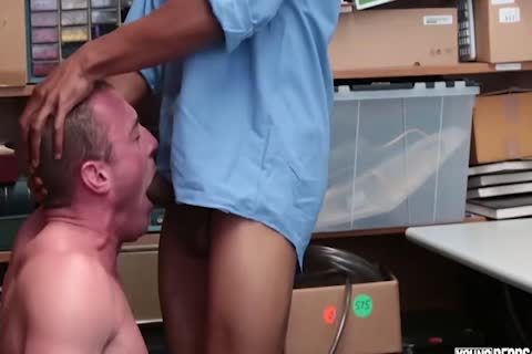27 Year daddy Caucasian Male gets pounded For Stealing