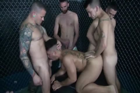 The thick bunch gangbang