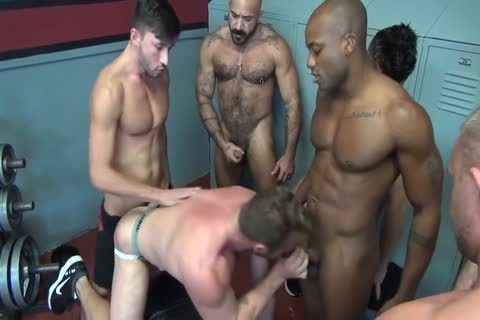 Ace axel interracial jerking off