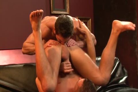 large weenie homosexual anal-copulation And cumshot