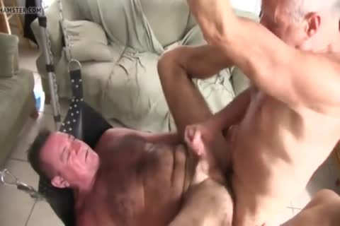 hairy Chest Daddy's bare plow
