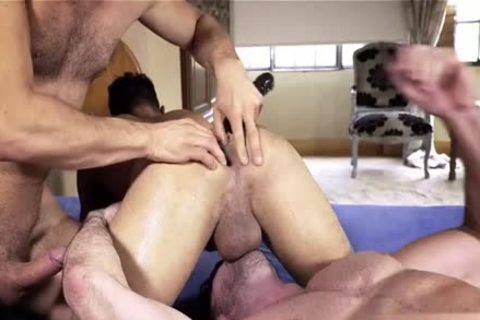Muscle homo trio And Facial