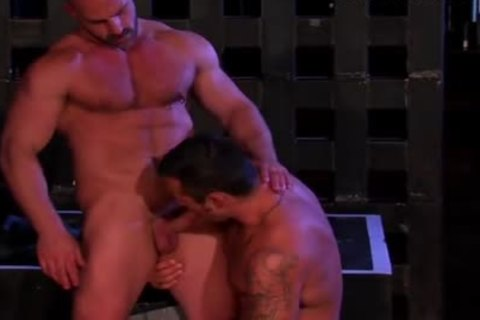 delicious men plowing In The Club