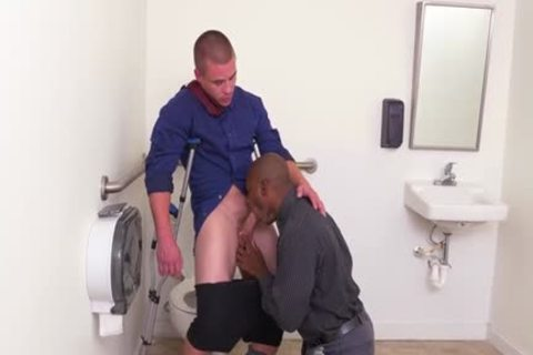 large ramrod homosexual oral-stimulation With Facial