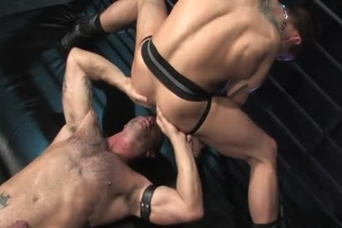 Muscle homosexual Flip Flop And butt ejaculation