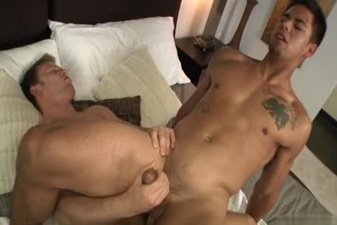Muscle homosexual ace pound And Creampie