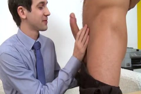 large dick Daddy Casting And cumshot