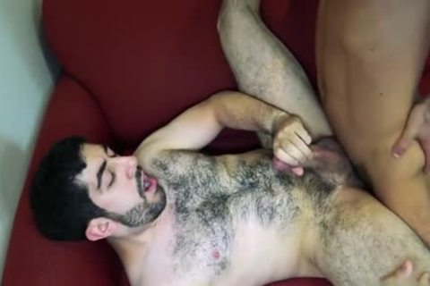 large jock gay oral-service With penis juice flow