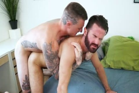 Muscle gay oral sex-service With goo flow