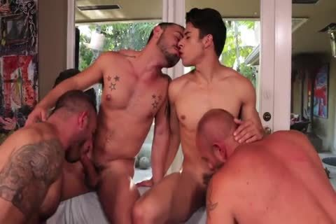 Rizzo, Lords, Andreas & Stevens - Muscled fuck