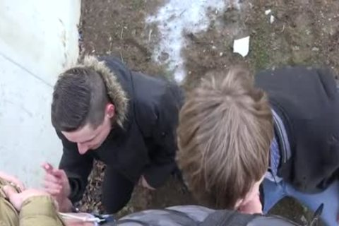 dirty teens Outdoor With cumshot