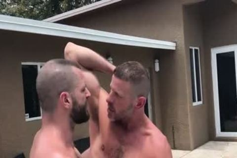 Clay And Jake Pool poke