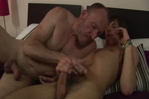 MenVsBoys - Balding gay pokes The pooper Of A lusty twink