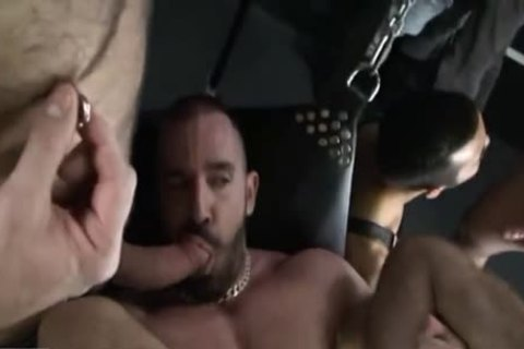 Leather Sling cum Dump