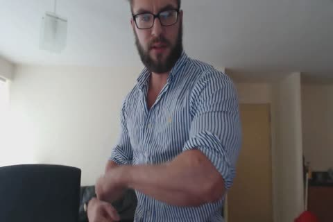 hairy British Verbal Muscle slavemaster
