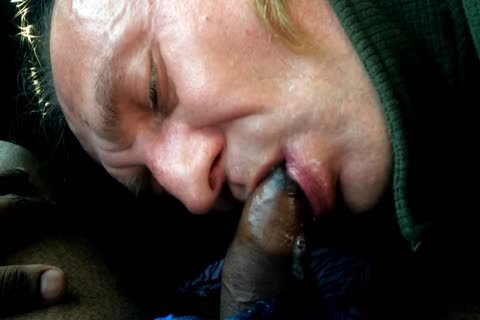 sucking In The Car, Swallowing cum, Sasha Semoz Public sucking