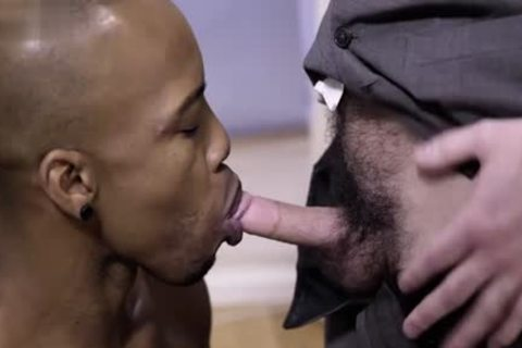 large rod homo Interracial With penis juice flow