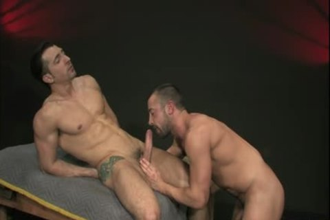 Muscle homo anal With Facial cum