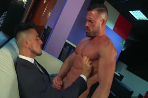 Muscle homosexual wazoo pound With ejaculation