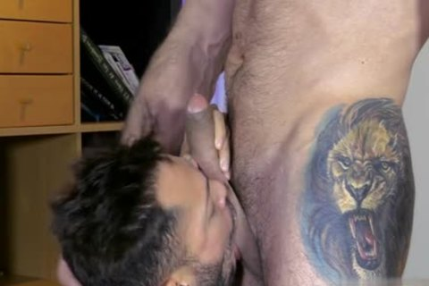 Muscle homosexual oral enjoyment And cumshot