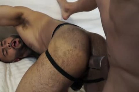 Muscle gay anal sex With Facial cum