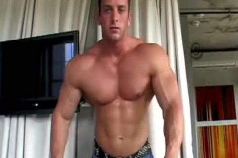 Muscle son pooper sex with facial