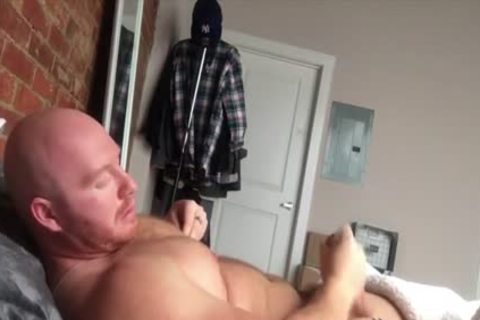 TJ Shows Off And Jerks Off