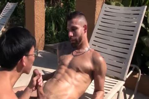 Latino Pimp bonks horny asian twink