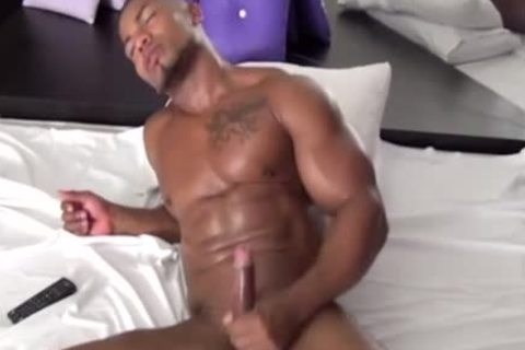 Sexy asian guy gets toyed fucked