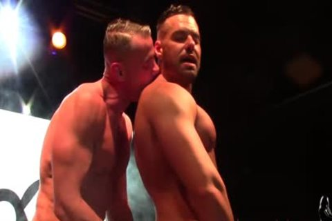 MArc Ferrer & Gabriel Lunna Hard homosexual fuck At VEP 2017