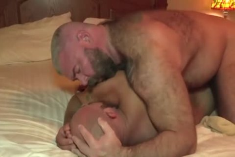 The Bear Likes The monstrous jock Of The Bear Daddy