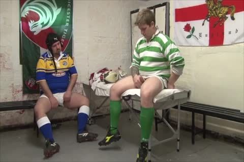 Rugby Bears pounding In Locker Room