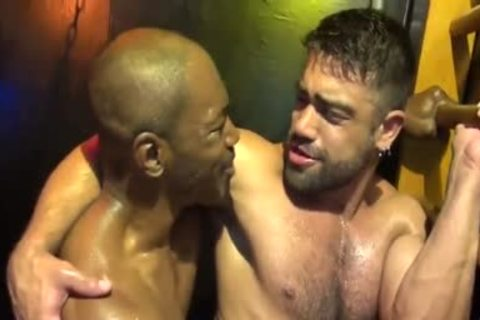 Intense Sweaty Interracial bare
