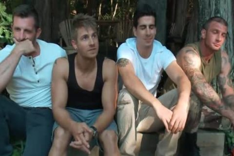 The Cabin Series 4 tied And nailed In The Woods Tyler Alexander