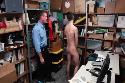 Tall guy Took It Up The butthole For Stealing