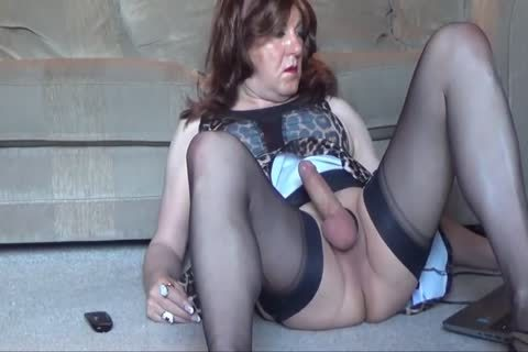 Shirley Early Morning Chat, jack off & semen