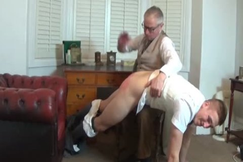 Daddy darksome spank two