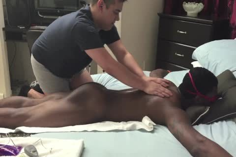 Chocolate dick Serviced In A Gloryhole