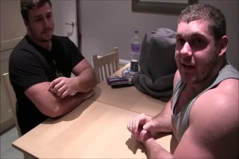 Powerful wrestlers suck pounding