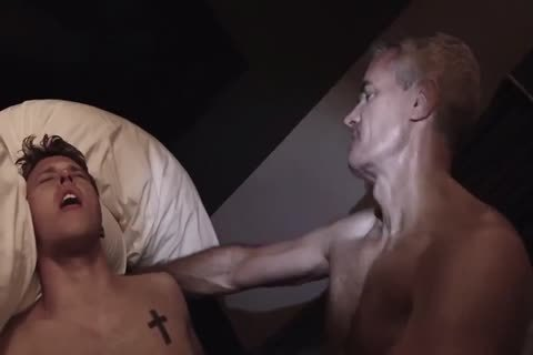 Dirty homosexuals massage oral job painfully