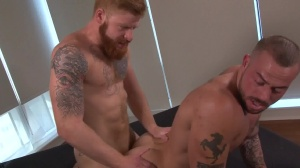 Tattooed And nailed - Bennett Anthony and Sean Duran anal sex