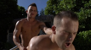 Sunkissed - Brent Everett with Luke Adams ass nail