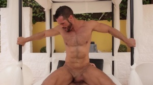 males In Ibiza - Denis Vega & Rogan Richards a bit of butt