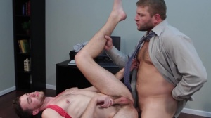 The leak - Colby Jansen with Brandon Moore butthole Hump