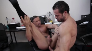 Fooling The Newbie - Jessy Ares with Donato Reyes butthole poke