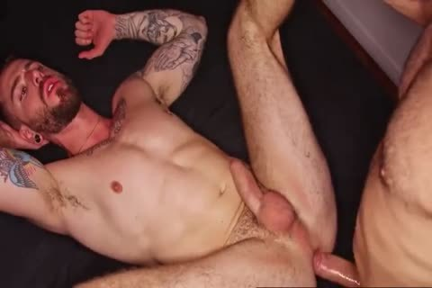 Two wild Hung Hunks raw